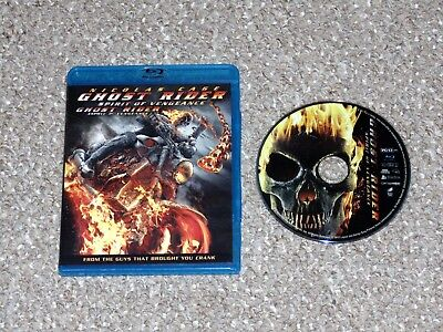 Ghost Rider: Spirit of Vengeance Blu-ray 2012 Canadian Nicolas Cage Marvel