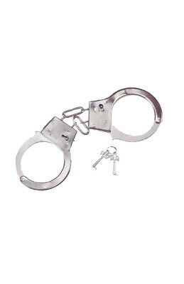 Adult XXX GLOW HANDCUFFS Joke Toy Police Prop Cuffs Shackles Novelty