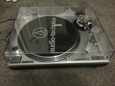Audio Technica AT-LP120 USB direct drive professional turntable (used)