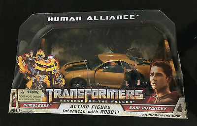 Bumblebee With Sam Robot Car Transformers Movie Drive Toy Boys Ages 5+ Boys Fun