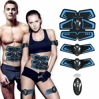 Ultimate ABS Stimulator Men Women EMS Machine Arms Legs Waist Hips Trainer Belt