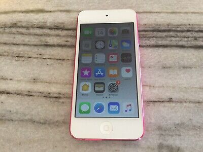 Apple iPod Touch 6th Generation 32GB - Pink PERFECT SCREEN. Replaced battery