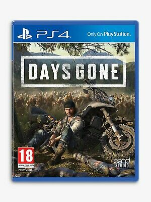 Days Gone PS4 Game - Brand New Sealed