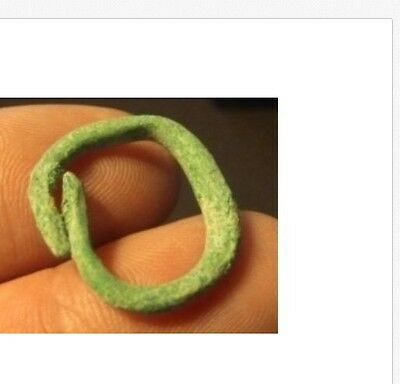 Rare Celtic ancient unique ring Prot-Type Valued $ money./Rare of a kind/.22mm..