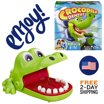 New Crocodile Dentist games family board games fun playing party friends