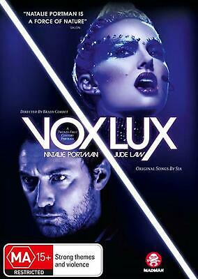 Vox Lux - DVD Region ALL Free Shipping!