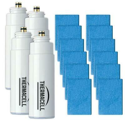 Thermacell R-4  Mosquito Repellent Refills 4 Cartridges /12 Mats 48 Hours  VALUE