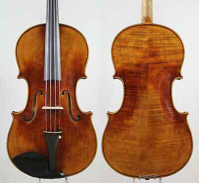 "Master performance!Copy Strad 16.5"" Viola, Warm Deep Tone,Oil varnish!M5427"