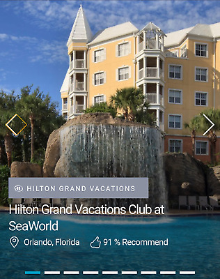 Vacation Package to Orlando—3 Nights—HGV Club Resort—$112—35,000 HHonors Points