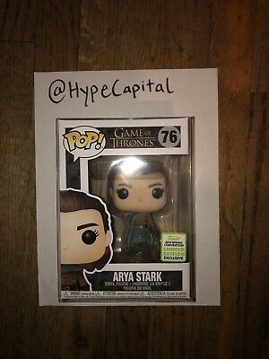 GoT Game Of Thrones Arya Stark Assassin Funko Pop Shared Exclusive