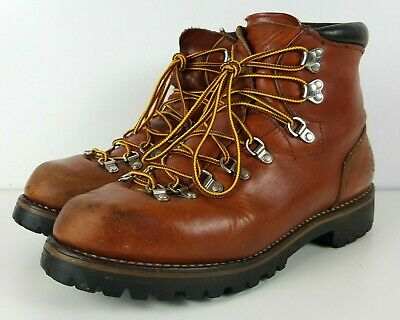c3348926091 VINTAGE IRISH SETTER Red Wing Boots 11 B Hiking Mountaineering Leather 825  USA