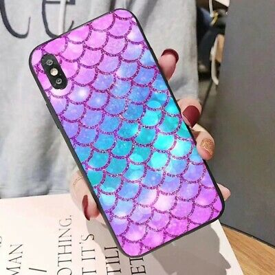 Art Pattern Shockproof Slim Hard Phone Back Cover For iPhone 6 7 8 X XR XS BR