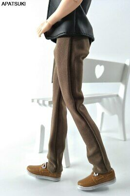 Kahki 1/6 Doll Clothes Handmade Pants For Ken Prince Male Boy Doll Trousers