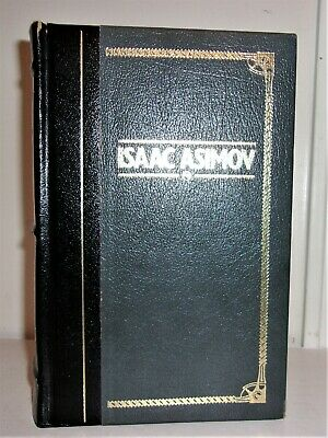 WORKS OF ISAAC ASIMOV, Leather, FOUNDATION I, ROBOT MORE!!