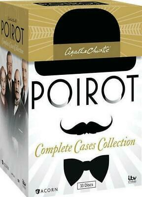 Agatha Christie's Poirot: Complete Cases Collection DVD 33-Disc Box Set