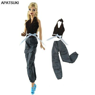 1set Fashion Top & Pants Trousers For 1/6 Doll Clothes Outfits For 1/6 Doll Toy