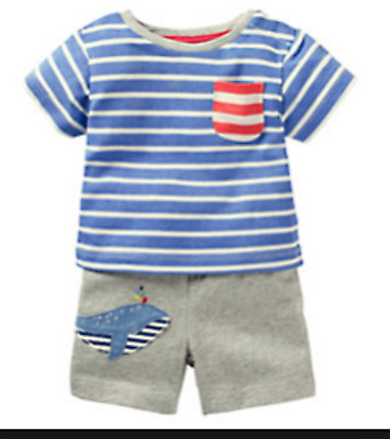 Clothes, Shoes & Accessories Baby Boden Boys Snowman T-Shirt Age 18-24 Month 2-4 Years LAST FEW! Boys' Clothing (0-24 Months)