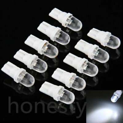 10X 12V 5W T10 194 168 158 W5W 501 White LED Side Car Wedge Light Lamp Bulb