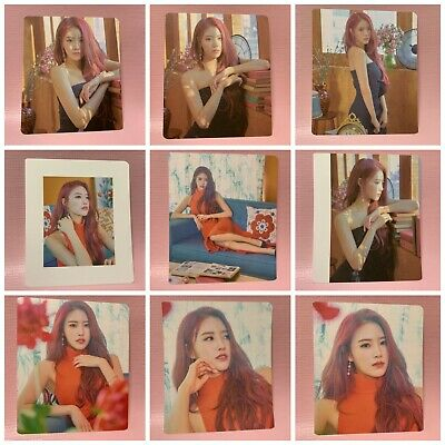 LVLZ LOVELYZ Official BOOKLET CARD 6th Mini Album ONCE UPON A TIME Limited Ver.