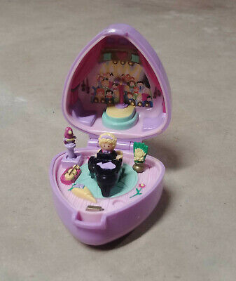 Vntg Polly Pocket Perfect Piano Recital Ring 1991 Bluebird  *100% CMPLT*  EC +