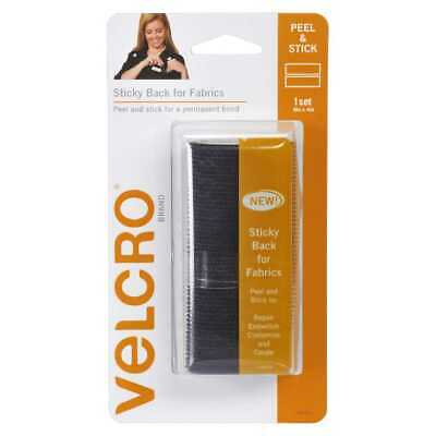 NEW VELCRO Brand Sticky Back For Fabric 6 x 4 Inch Strip By Spotlight