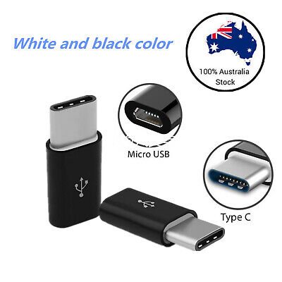Micro USB Female to USB 3.1 Type-C Male Converter USB-C Data Cable OTG Adapter 3