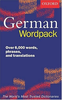 Oxford German Wordpack, , Good Condition Book, ISBN 0198603363