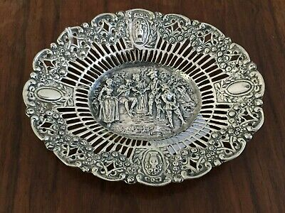 Antiques Continental  800 Silver Dish   80.5 grams