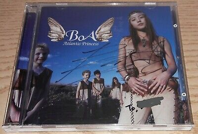Boa Atlantis Princess 3Rd Album K-Pop Real Signed Autographed Promo Cd