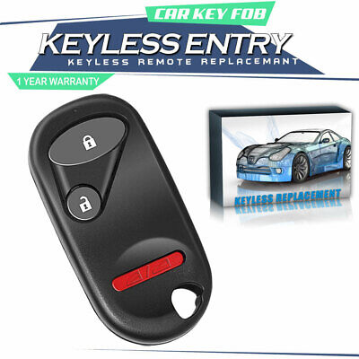 Replacement For 2001 2002 2003 2004 2005 Honda Civic EX LX DX Car Key Fob Remote