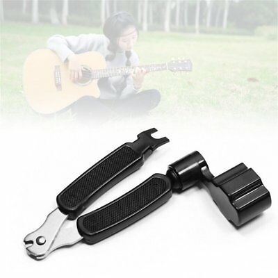 3 in 1 Guitar String Forceps Planet Waves String Winder And Cutter Pin Puller 1e