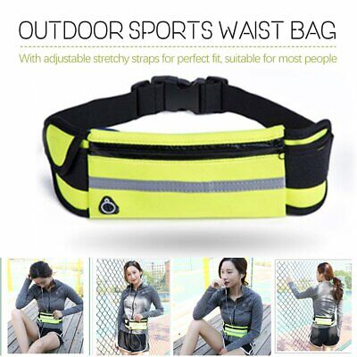 Running Bum Bag Fanny Pack Travel Waist Bags Money Belt Pouch Sports Wallet mv