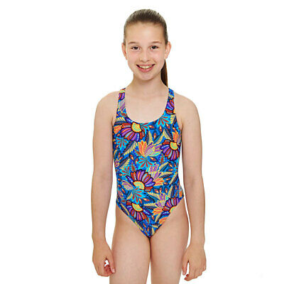 zoggs Indian Tribe Rowleback Swimsuit Costume Girls age 6-15