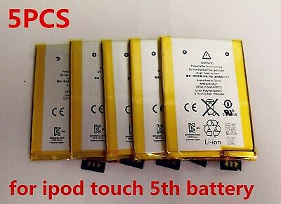 5pcs 1030mAh Replacement internal battery for Apple Ipod touch 5th gen A1421