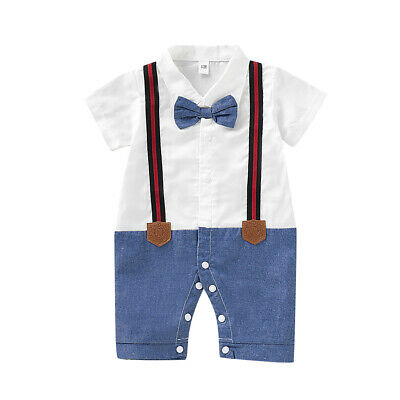 New Newborn Baby Boy Girl Outfits Clothes Romper Jumpsuit Shorts Pants Set