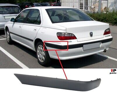 NEW PEUGEOT 406 CENTRE REAR BUMPER MOULDING 99/>7452K4