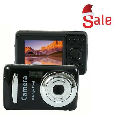 Mini Compact Digital Camera 16MP 1080P HD 2.4'' Inch TFT LCD Camcorder DV