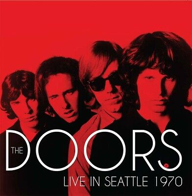 THE DOORS - Live In Seattle 1970. New CD + Sealed. **NEW**
