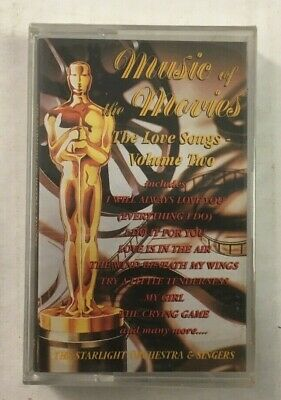"""The Music Of The Movies """"The Love Songs Vol.2"""" NEW & SEALED Tape Cassette"""