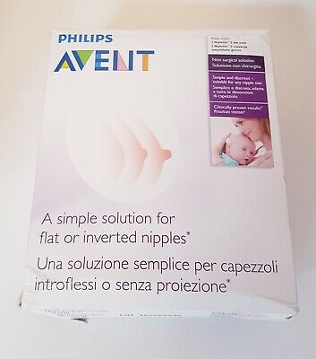 Philips Avent Niplette Twin Pack With 2xDisposable Breast Pads Simple & Discreet