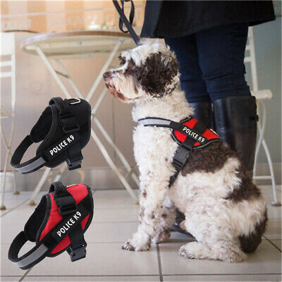 No-Pull Strong Adjustable Dog Harness Reflective Pet Puppy Harnesses Size XS-XL