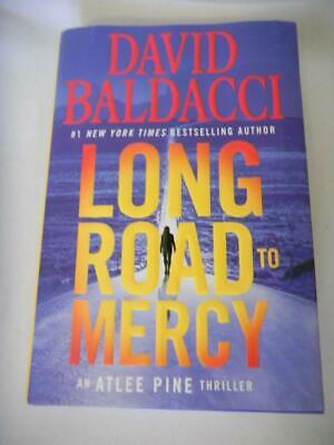 Long Road to Mercy by DAVID BALDACCI Atlee Pine Thriller HD/DJ 2018 1st Edition