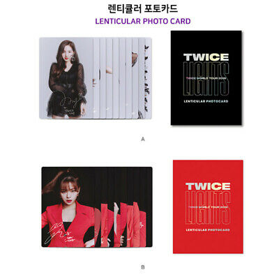 TWICE Official PHOTOCARD SET 2019 World Tour TWICELIGHTS Goods MD Select Option