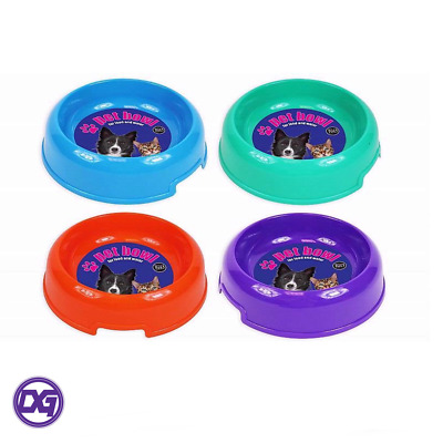 World of Pets Large Plastic Food or Water Bowls 500ml