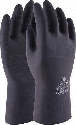 UCI Neo300 Heavy Duty Neoprene Rubber Chemical Resistant PowerGrip Safety Gloves
