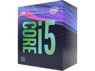Intel Core i5 9400F CPU 2.90ghz up to 4.1ghz 6 Core 9MB Cache BX80684I59400F