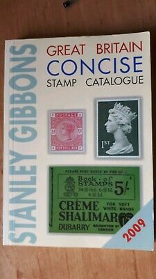 Stanley Gibbons 2009 Great Britain Concise Stamp Catalogue