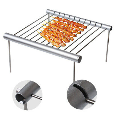 Portable Stainless Steel Camping Detachable Mini Folding Travel Barbecue Grill