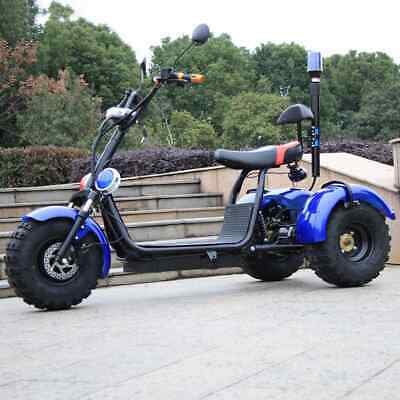 3 WHEELED RUGGED (chopper style) ELECTRIC MOTORBIKE/SCOOTER FREE EUROPE DELIVERY