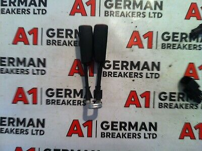 Vw Lupo Seat Arosa 01-04 Double Rear Seatbelt Release Buckle Stalks 6X0857488
